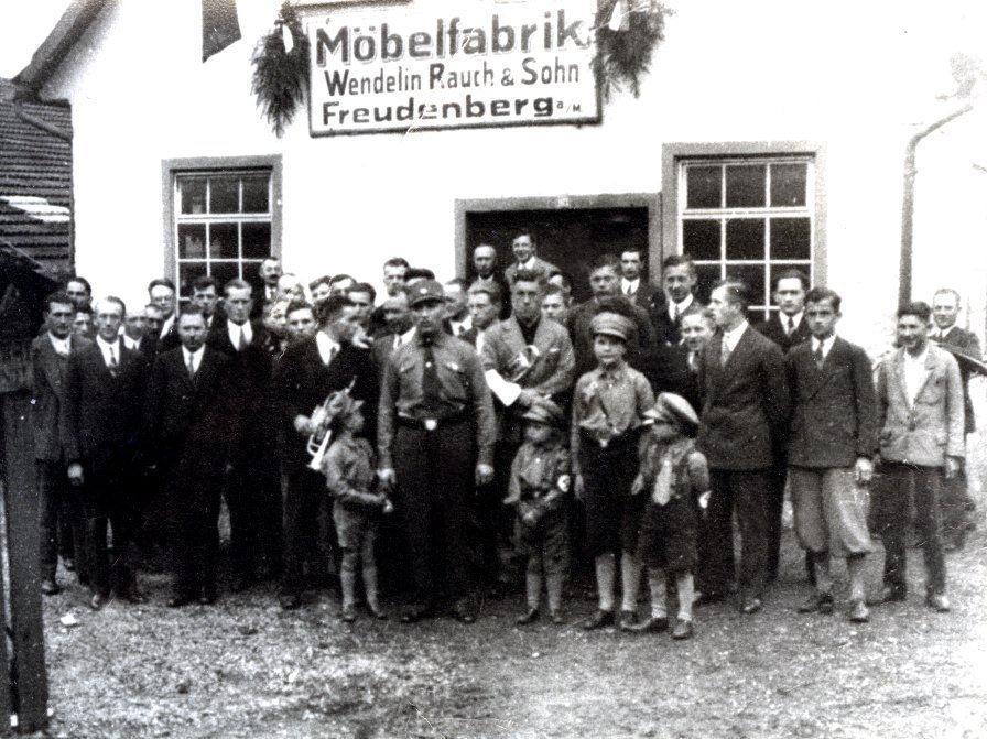 Menschen In Vergangenen Tagen Stadt Freudenberg Am Main