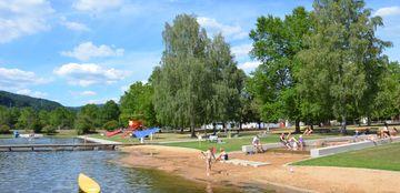 """""""Badespass für alle"""" im Badesee im Seepark"""